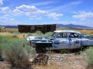 oude wagen