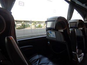 stoelen luxe bus Supra Economy