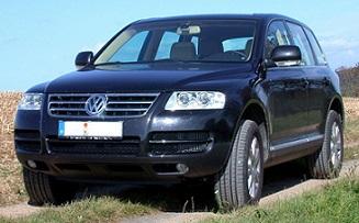 VW Touareg SUV